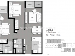 The-Gateway-Cambodia-2-bedroom-floor-plan
