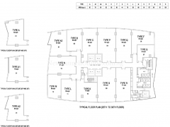 The-Gateway-Cambodia-office-tower-floor-plan-from-25th-to-36th-floor