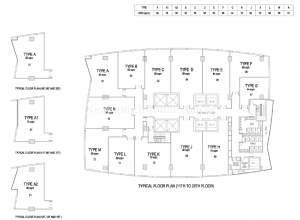 The-Gateway-Cambodia-office-tower-floor-plan-from-11th-to-20th-floor