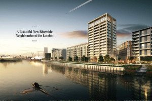 Royal Wharf London by Oxley