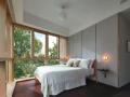 One Draycott master bedroom