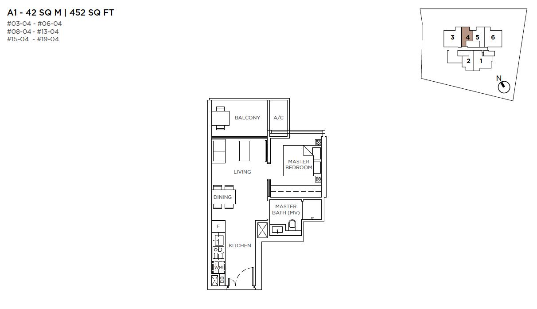 3-Cuscaden-1-bedroom-floor-plan-type-A1