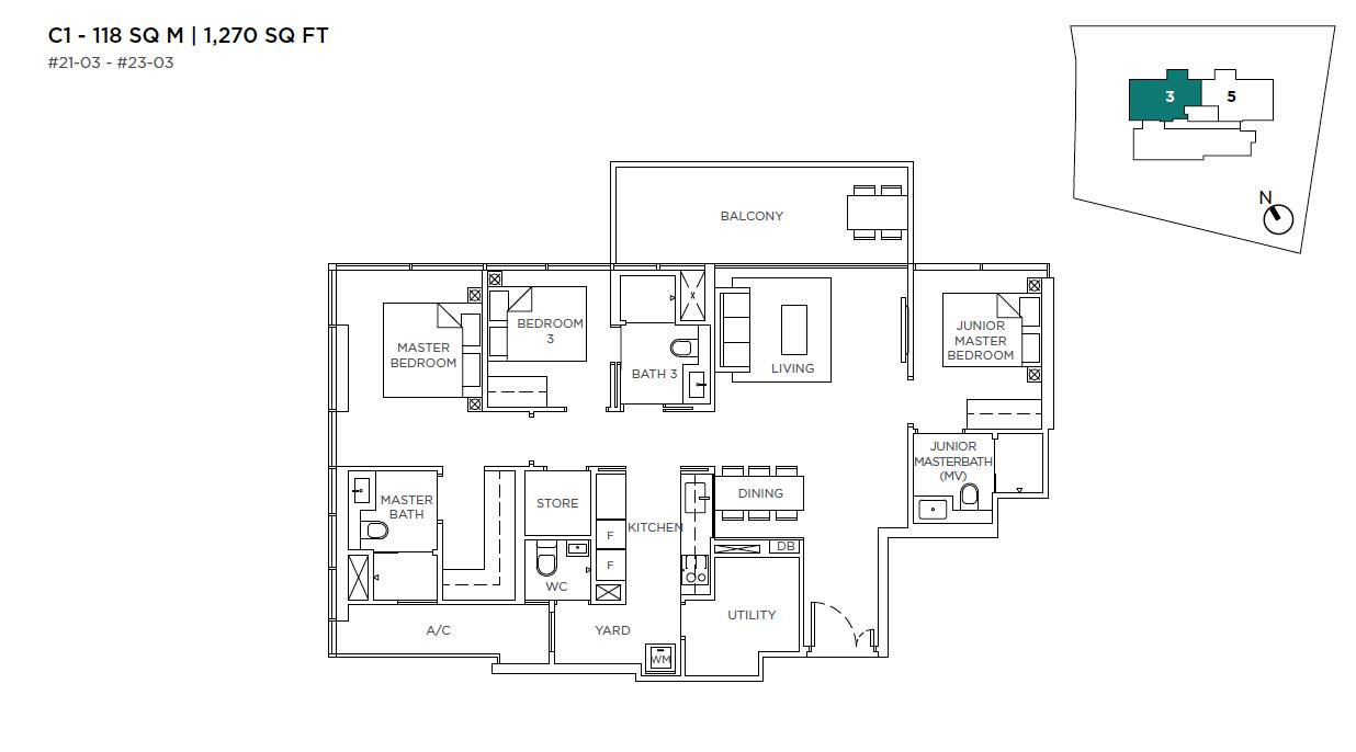 3-Cuscaden-3-bedroom-floor-plan-type-C1