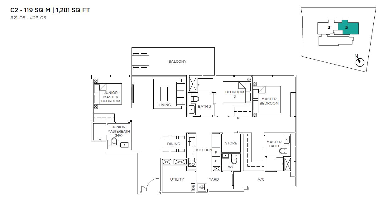 3-Cuscaden-3-bedroom-floor-plan-type-C2