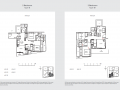 33 Residences 2br type b floor plan