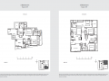 33 Residences 2br type e floor plan