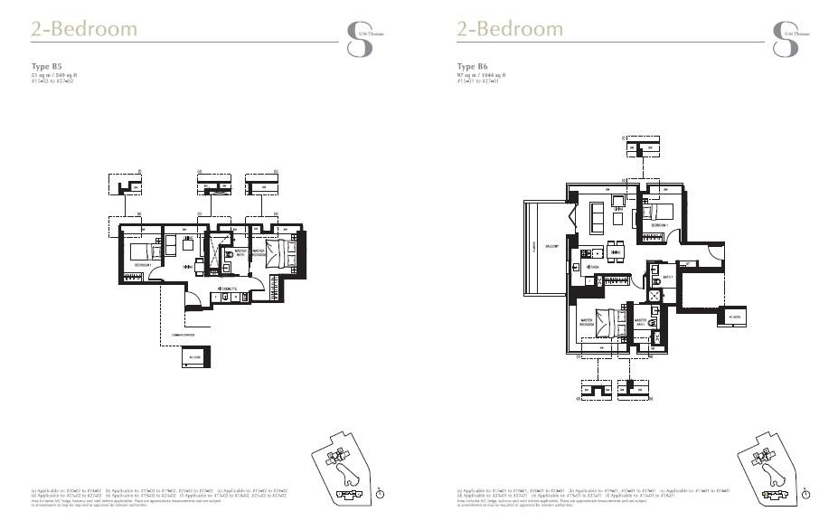 8 st Thomas floor plan 2Br 1