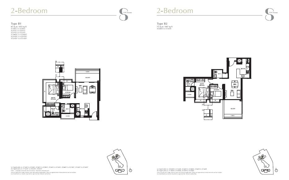 8 st Thomas floor plan 2Br
