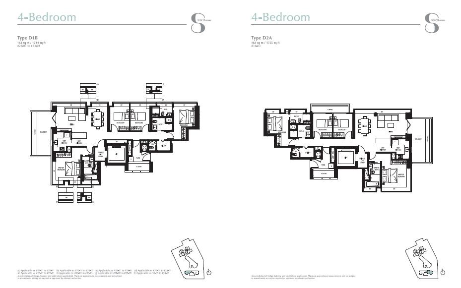 8 st Thomas floor plan 4br