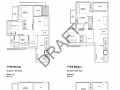 Forest Woods floor plan - 2br+study