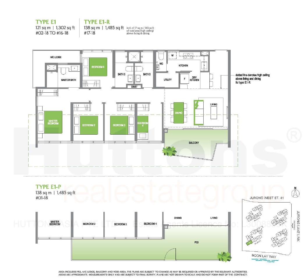 Lake Grande 5 bedroom Floor Plan