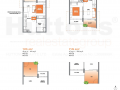 Lake Grande 1 bedroom Floor Plan