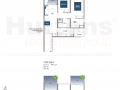 Lake Grande 2 bedroom Floor Plan Type B4