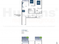 Lake Grande 2 bedroom Floor Plan Type B4a