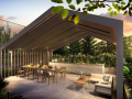The Alps Residences alfresco dining