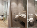 The Alps Residences bathroom finishes