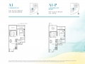 Casa-Al-Mare-1-Bedroom-Floor-Plan-Type-A1