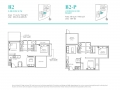 Casa-Al-Mare-2-Bedroom-Floor-Plan-Type-B2