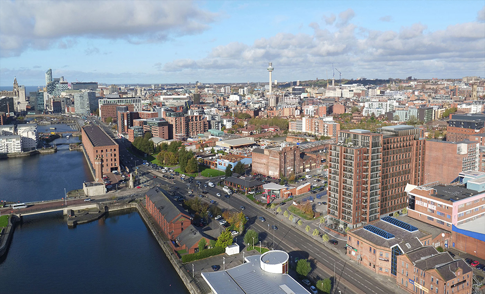 Epic-Residence-Liverpool-drone-view