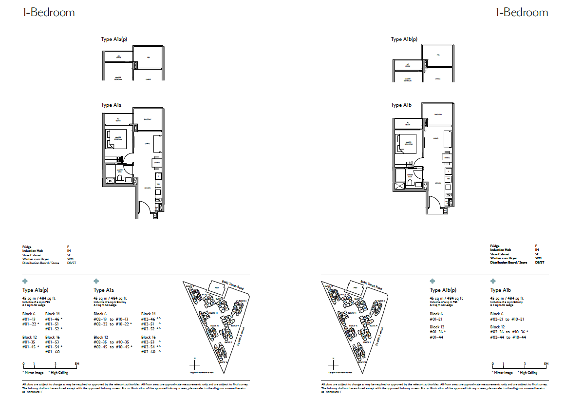 Fourth-Avenue-Residences-1-Bedroom-floor-plan