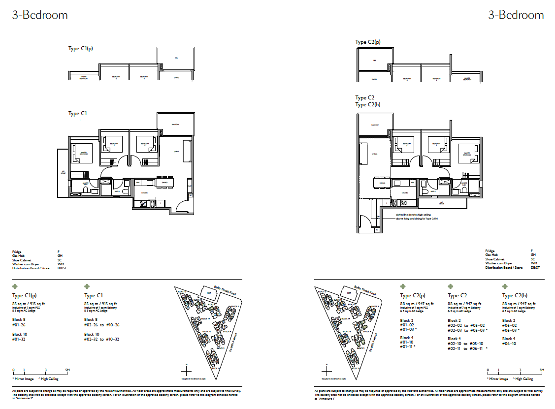 Fourth-Avenue-Residences-3-Bedroom-floor-plan