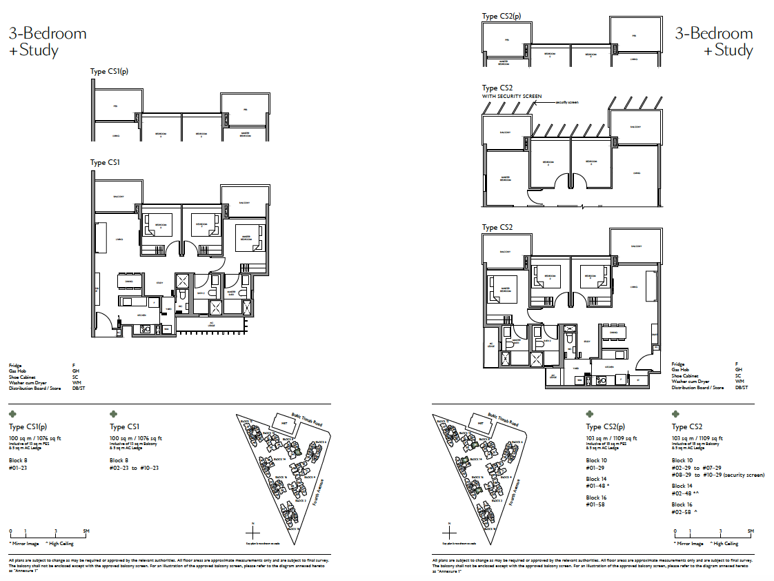 Fourth-Avenue-Residences-3Study-floor-plan