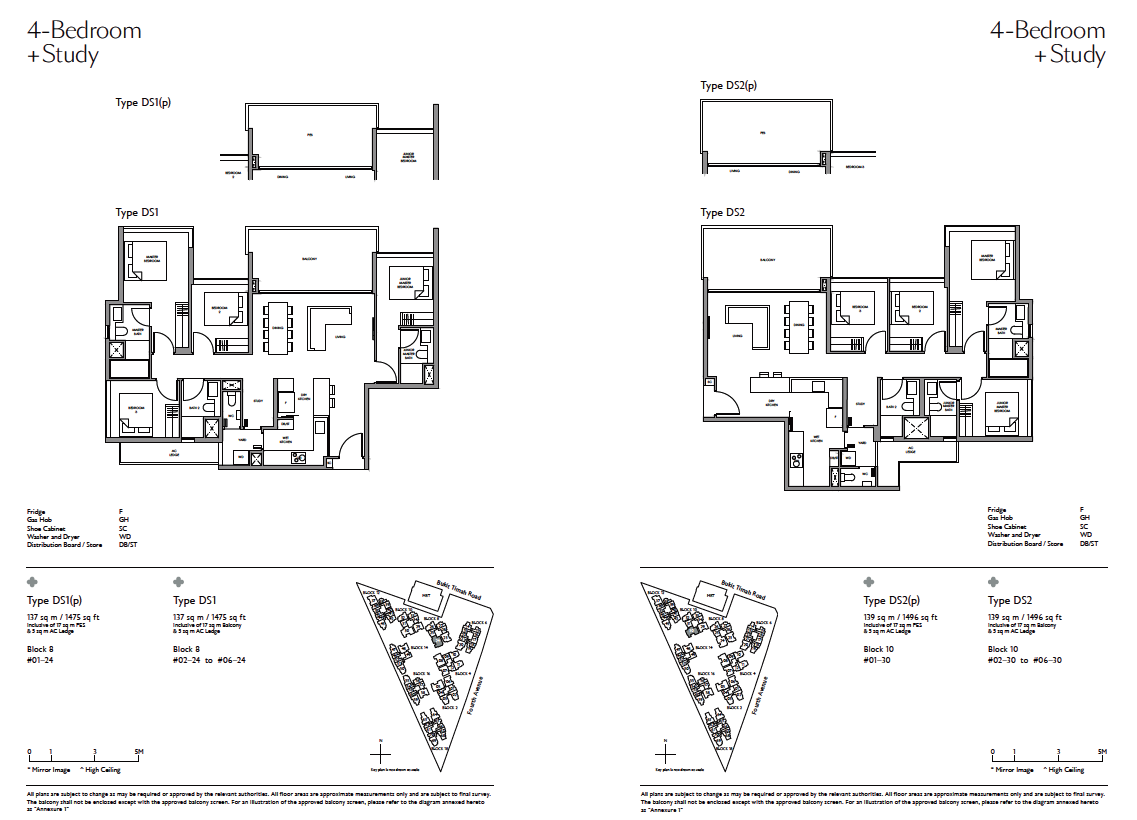 Fourth-Avenue-Residences-4Study-floor-plan