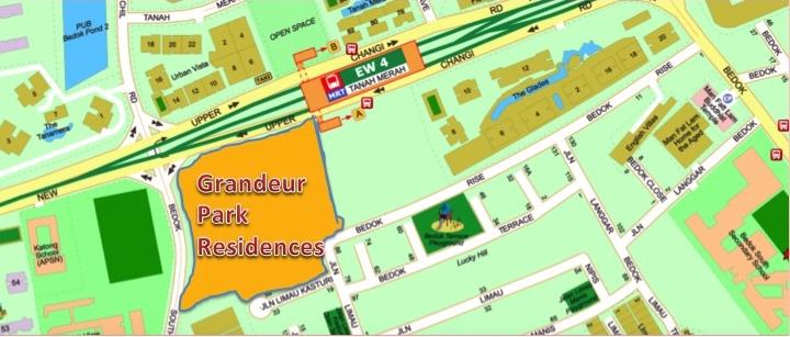 Grandeur Park Residences Showflat location address