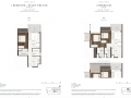 Jervois-Prive-floor-plan-1S-and-2-bedroom