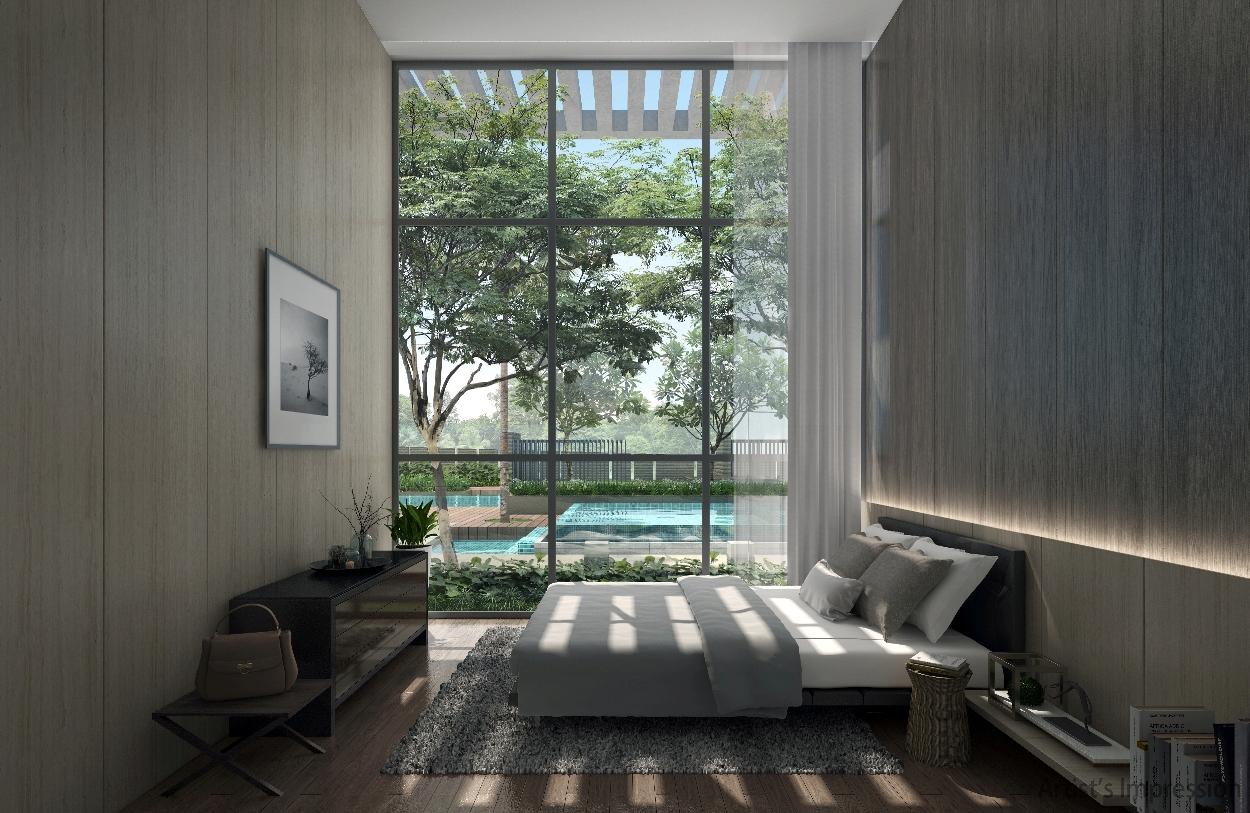 Kandis Residence bedroom