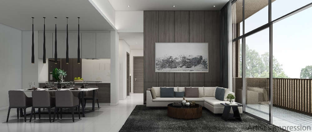 Kandis Residence living area