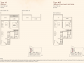Kandis Residence 1 bedroom floor plan type A1