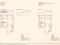 Kandis Residence 1 bedroom floor plan type A2