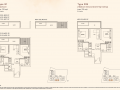 Kandis Residence 2 bedroom floor plan type B1