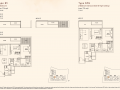 Kandis Residence 2 bedroom floor plan type B3