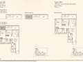 Kandis Residence 2 bedroom floor plan type B5