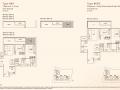 Kandis Residence 2+study floor plan type B6S