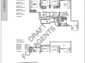 Kent Ridge Hill Residences floor plan-3 bedroom deluxe