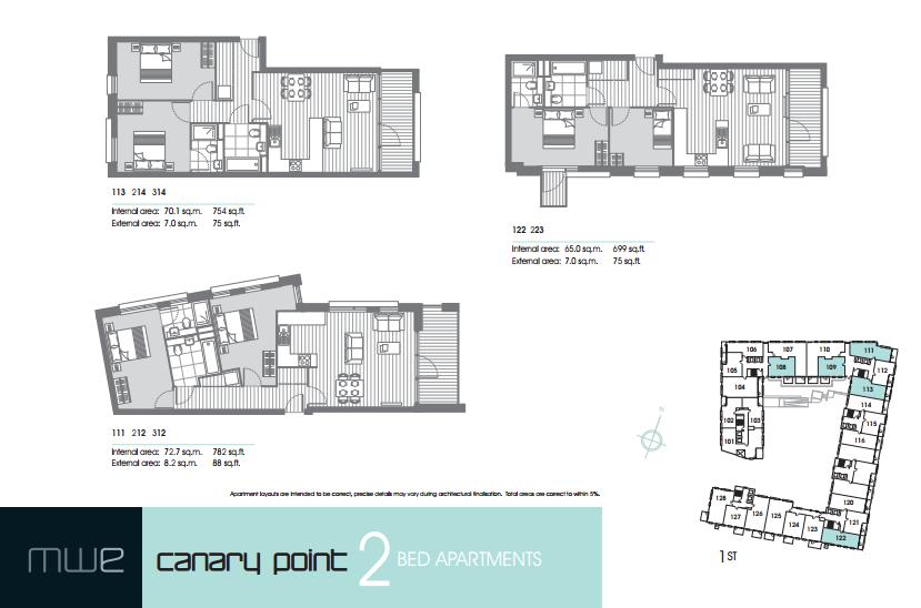 Marine Wharf East floor plan 2