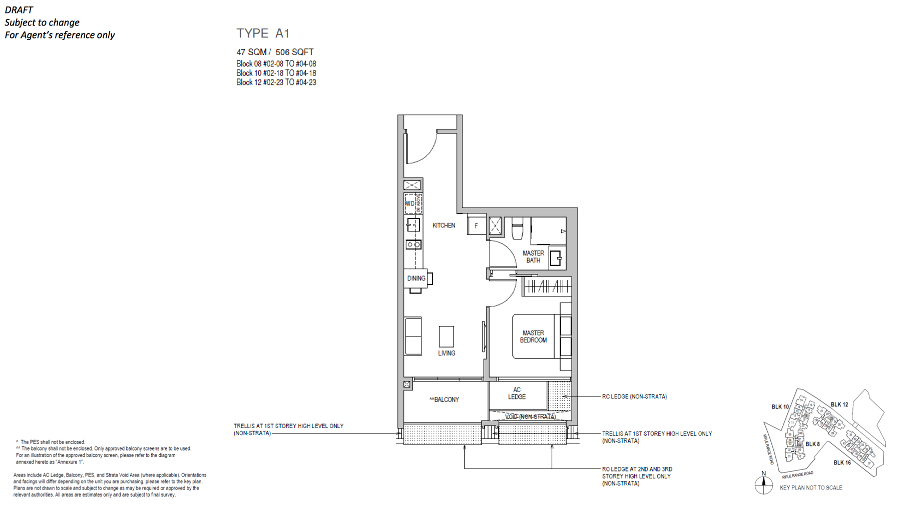 Mayfair Gardens floor plan type A1