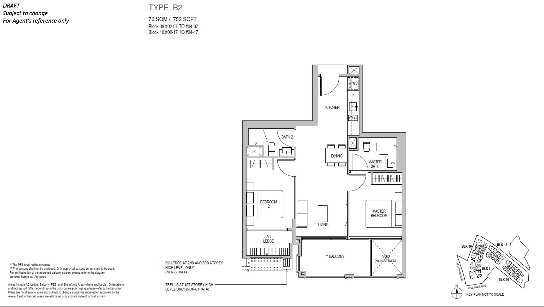 Mayfair Gardens floor plan type B2