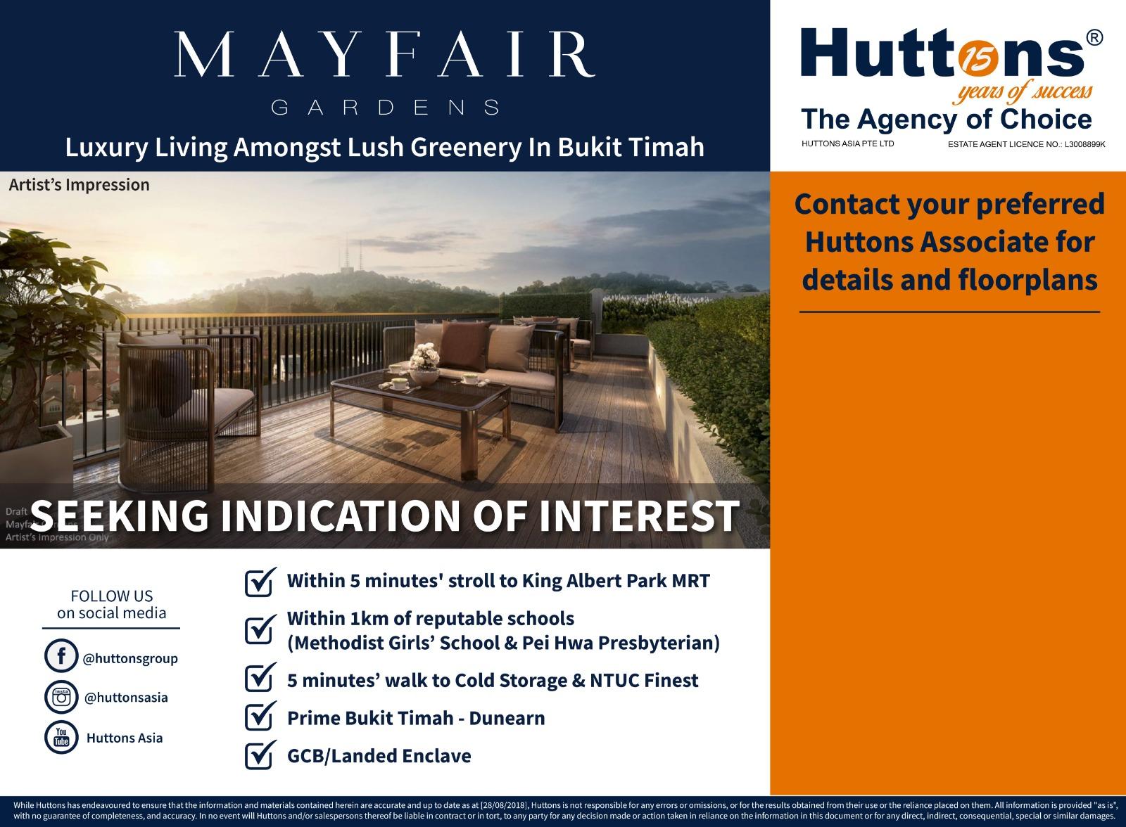 Mayfair Gardens huttons