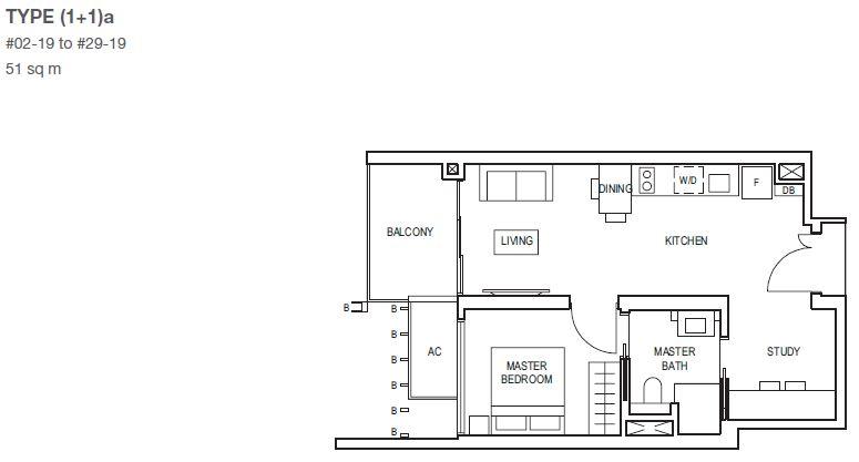 midwood-condo-floor-plan-1-bedroomstudy-type11a