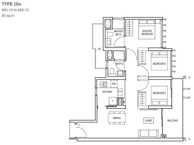 midwood-condo-floor-plan-3-bedroom-type3a