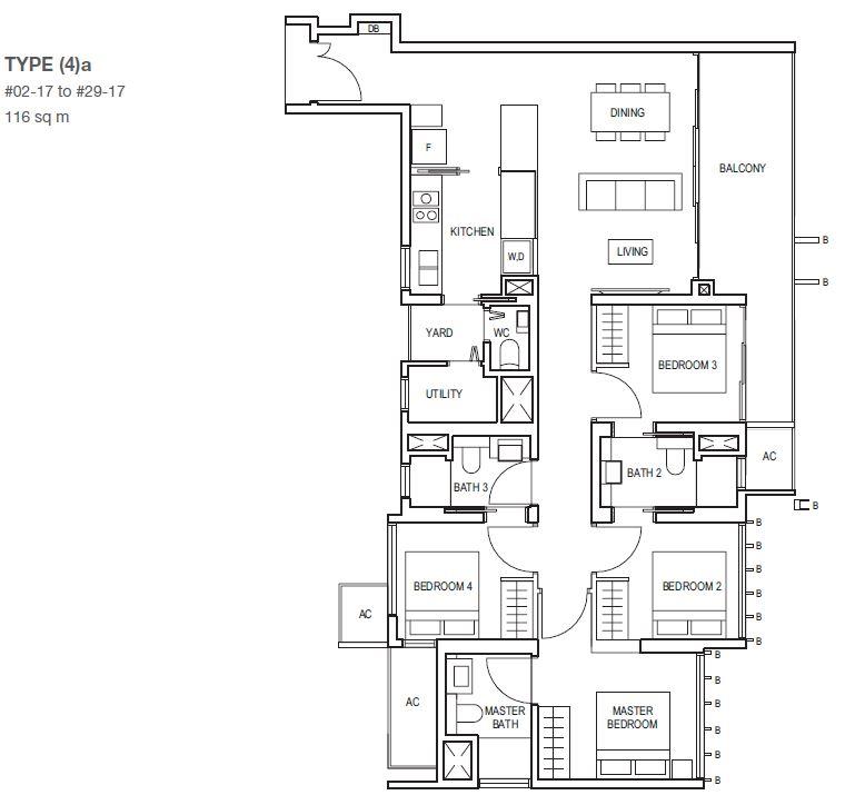 midwood-condo-floor-plan-4-bedroom-type4a