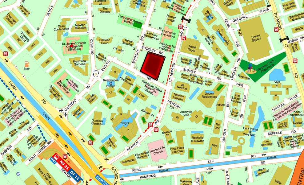 Muse-@-Newton-Location-Map-at-Newton-Road
