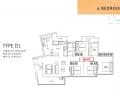 NorthWave EC Floor Plan 4 bedroom