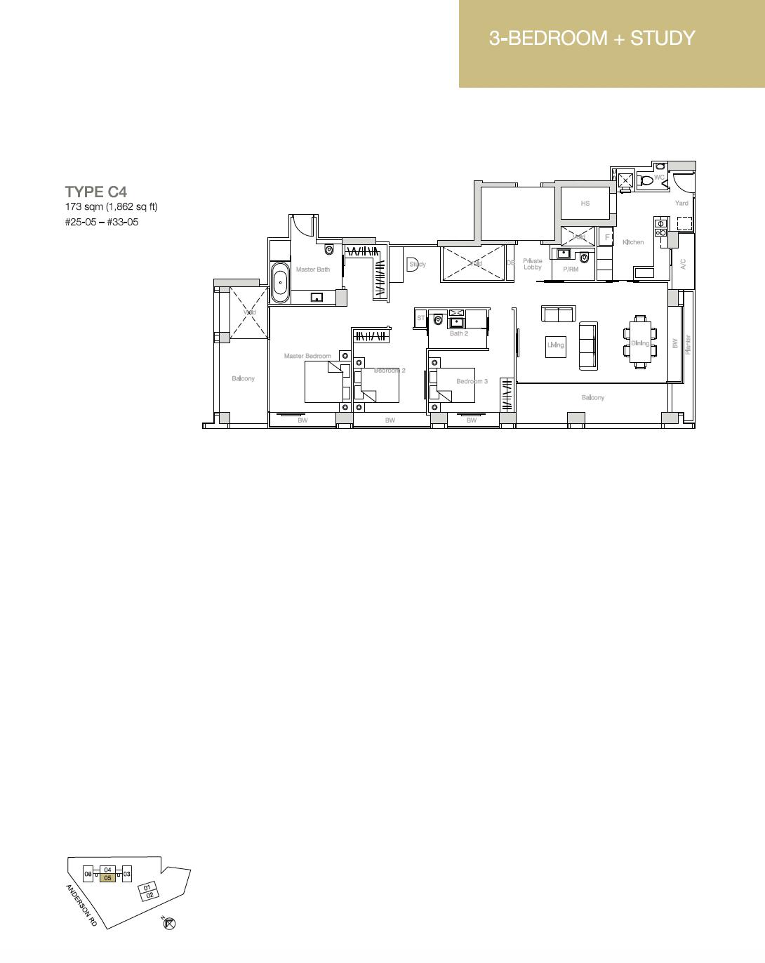 Nouvel-18-floor-plan-3-bedroom-Study