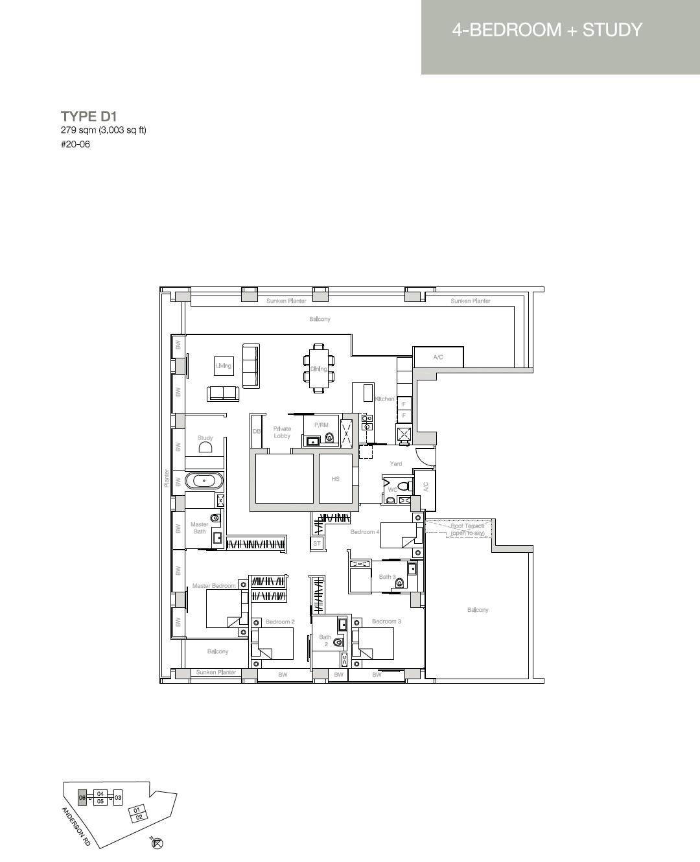 Nouvel-18-floor-plan-4-bedroomStudy