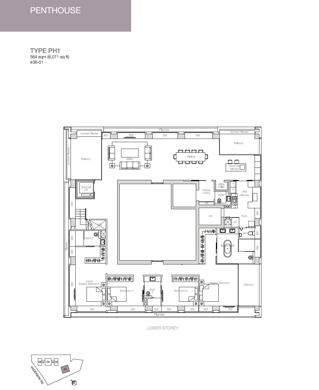Nouvel-18-floor-plan-Penthouse
